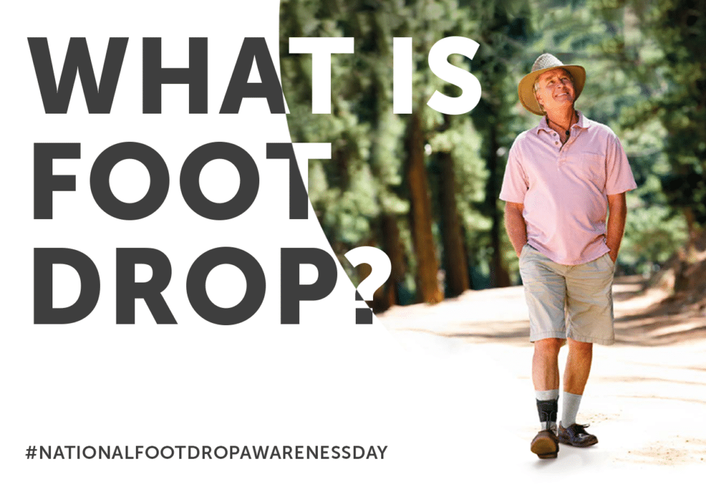 What is Foot Drop? Informative blog thumbnail
